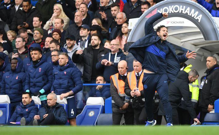 Frank Lampard getur nú valið níu varamenn á bekkinn hjá Chelsea.