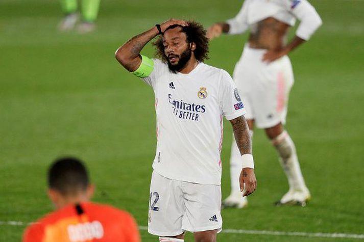 Marcelo í vikunni er Real Madrid tapaði fyrir hálfgerðu varaliði Shaktar.