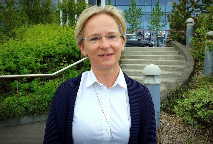 Bergþóra Þorkelsdóttir dýralæknir hefur verið forstjóri Vegagerðarinnar frá árinu 2018.