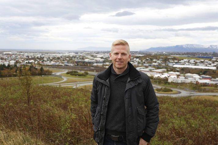 Kristján Ómar Björnsson er þjálfari Hauka.