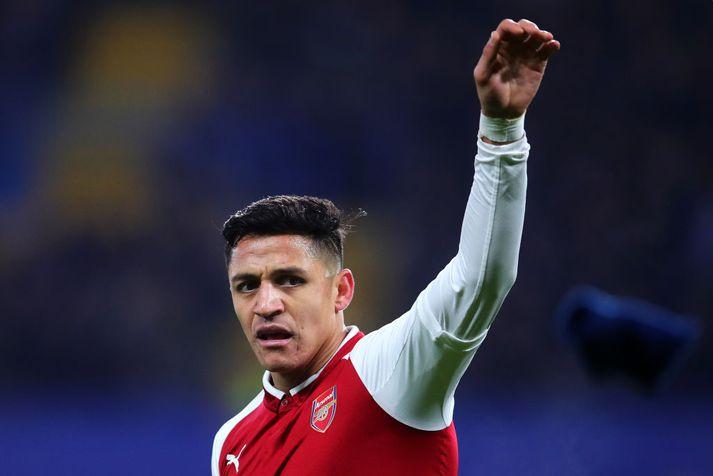 Alexis Sanchez, leikmaður Arsenal.