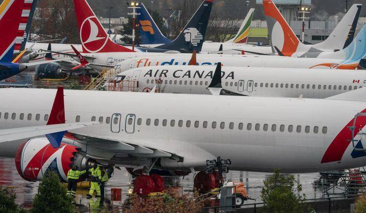 Flugbanni Boeing 737 Max vélanna verður líklega aflétt í janúar.