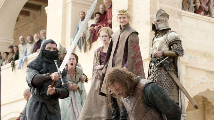 Leikarar Game of Thrones segja dauða Ned Stark hafa verið vendipunkt í velgengni þáttanna.