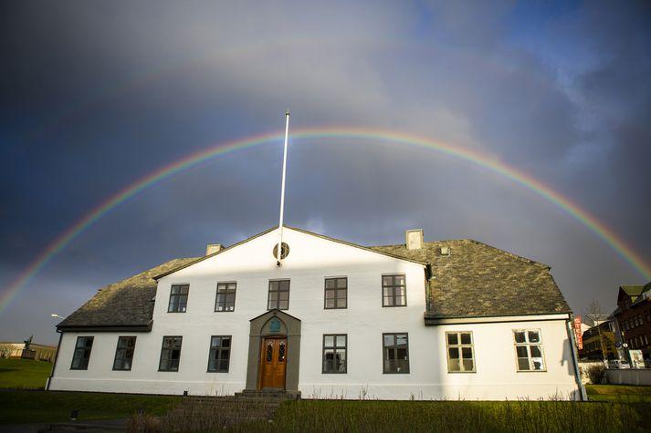 Almenningi býðst að heimsækja Stjórnarráðshúsið í dag.