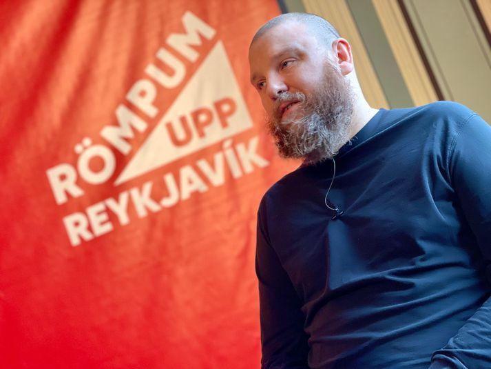 Haraldur Þorleifsson átti hugmyndina að Römpum upp Reykjavík.