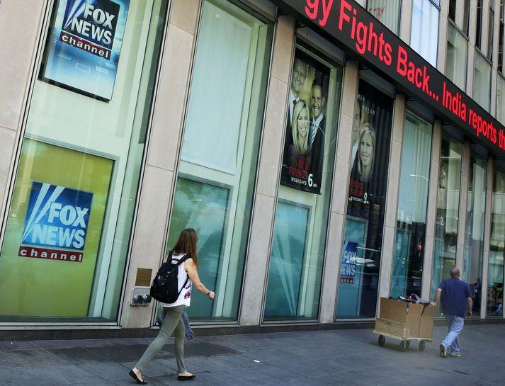 Frá höfuðstöðvum Fox News í New York.
