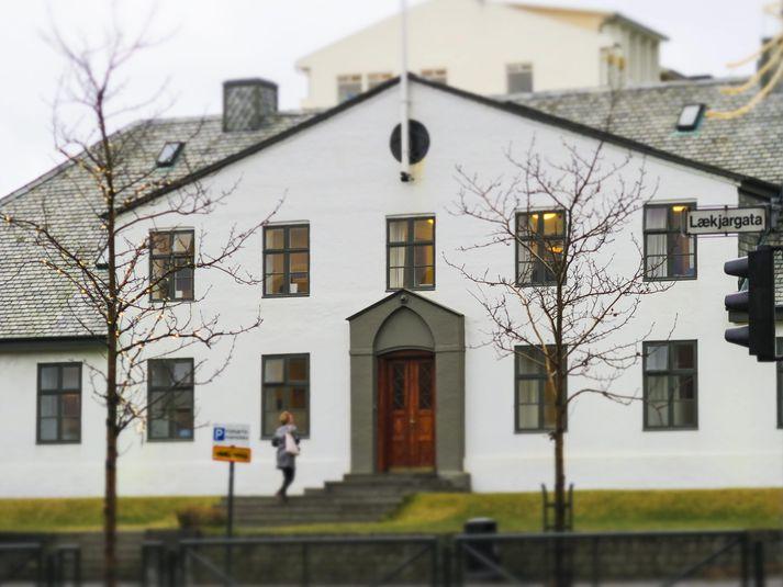 Ríkisstjórn Íslands fundaði í morgun.