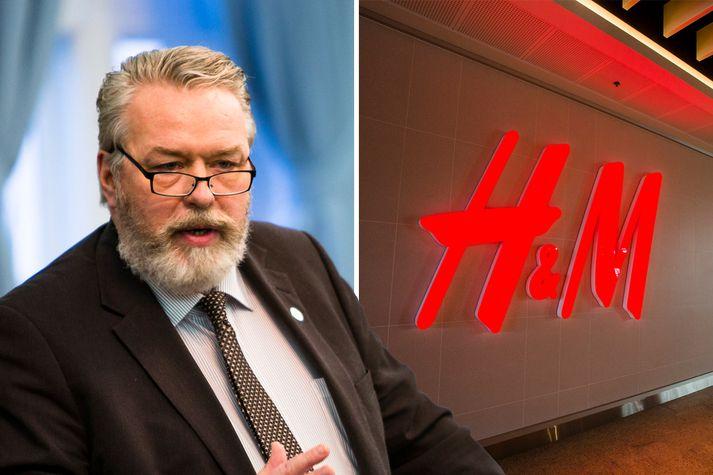 Þorsteini Sæmundssyni misbýður verðmunurinn í H&M.