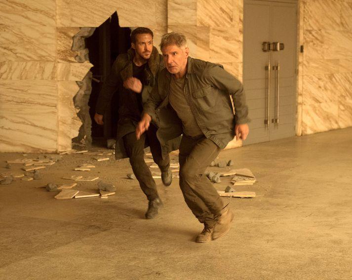 Harrison Ford og Ryan Gosling á harðaspretti í Blade Runner 2049.
