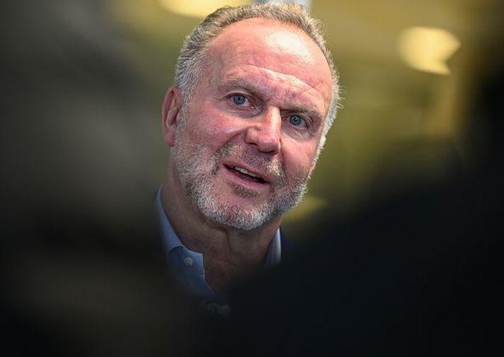 Karl-Heinz Rummenigge hefur staðfest að Bayern verði ekki hluti af Ofurdeildinni.