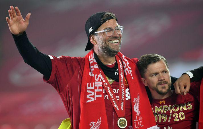 Jürgen Klopp hefur gert Liverpool að bæði Englands- og Evrópumeisturum.