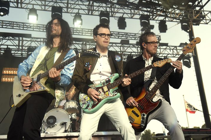 Meðlimir hljómsveitarinnar Weezer.