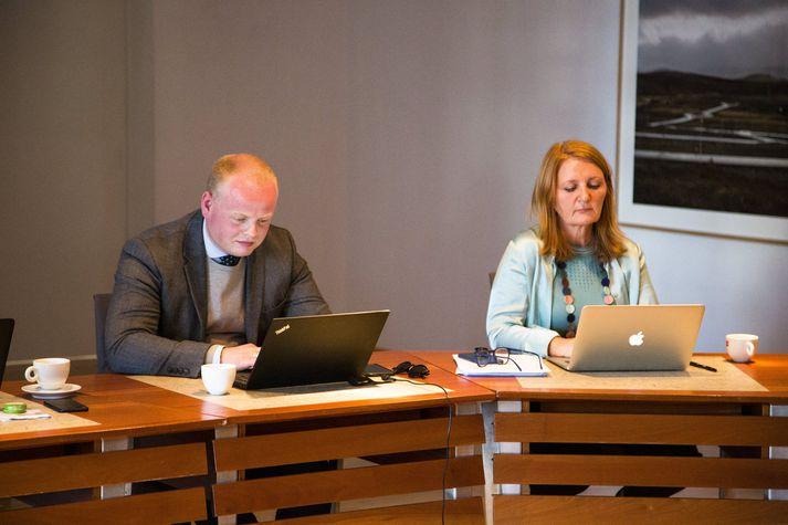 Rósa Guðbjartsdóttir og Ágúst Bjarni Garðarsson.
