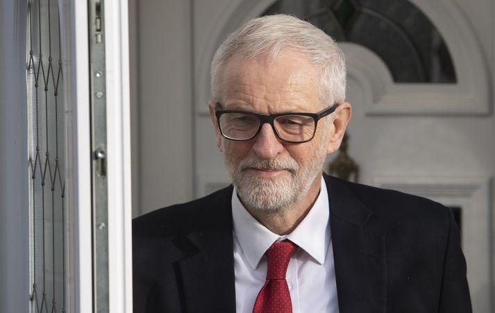 Jeremy Corbyn segir að stefnumál flokksins hafi breytt pólitíska landslaginu á Bretlandi.