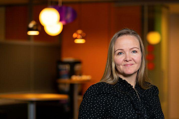 Geirlaug Jóhannsdóttir ráðgjafi og einn eigandi Hagvangs.