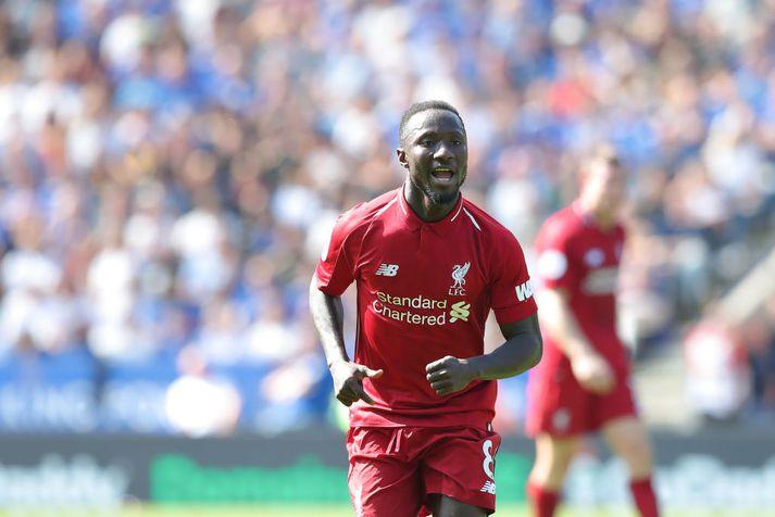 Keita í leik með Liverpool.