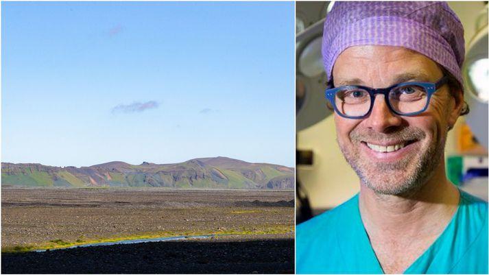 Tómas Guðbjartsson lýsir vanþóknun sinni vegna sölunnar á Hjörleifshöfða í færslu á Facebook.
