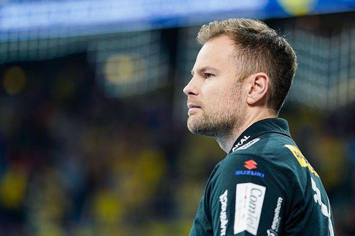 Kristján er hann stýrði Löwen en hann stýrði félaginu frá sumrinu 2019 til febrúar 2020.