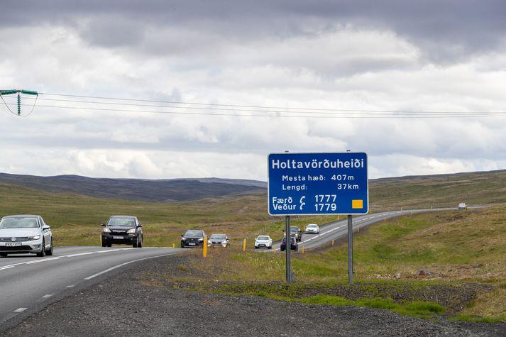 Íslendingar tóku við sér í akstri í mánuðinum.