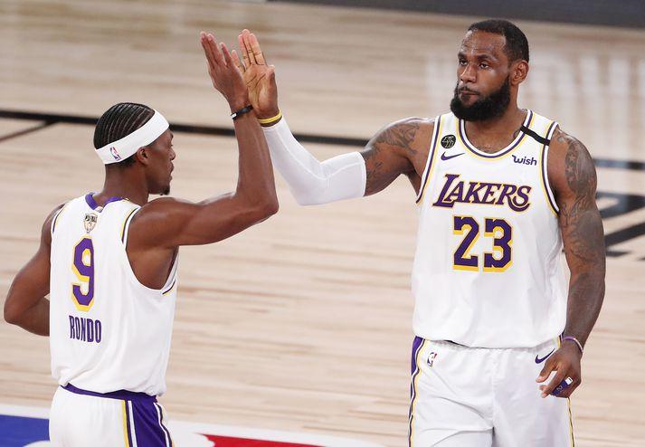 Rajon Rond og LeBron James eru tveir af reynslumeiri leikmönnum NBA-deildarinnar.