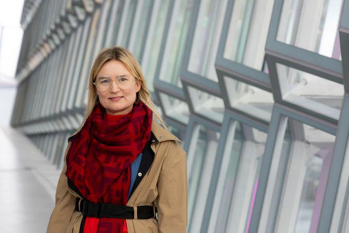 Bjarney Harðardóttir segir að eftirspurnin eftir íslenskri hönnun sé stöðugt að aukast.