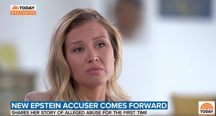 Jennifer Araoz ræddi reynslu sína við NBC Today í dag.
