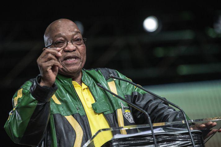 Jacob Zuma erforseti Suður-Afríku, að minnsta kosti sem stendur.