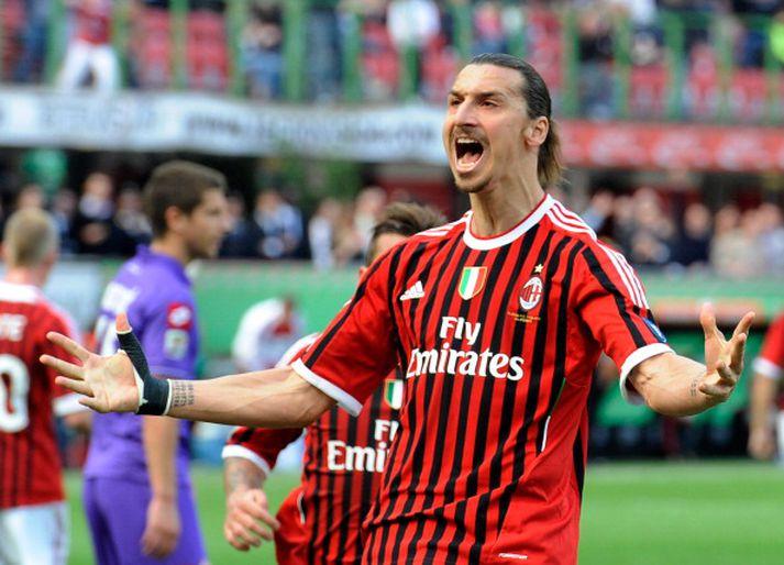 Zlatan er að snúa aftur til Ítalíu.
