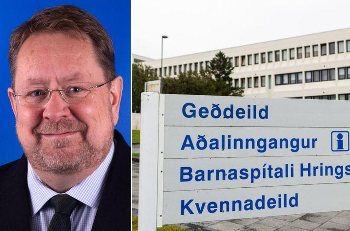 Reynir Arngrímsson er formaður Læknafélags Íslands.