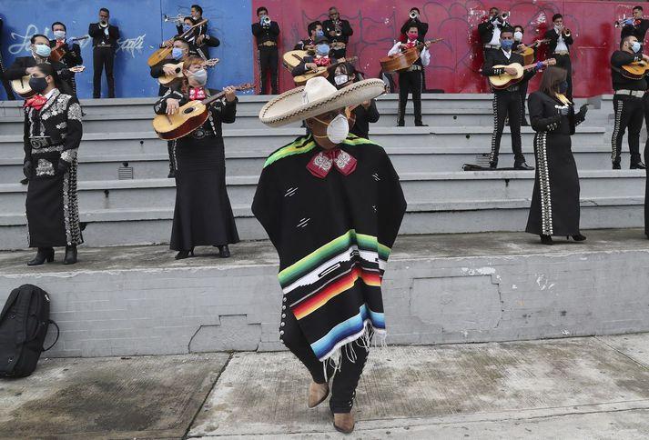 Frá tónleikum í Ekvador fyrr í mánuðinum.