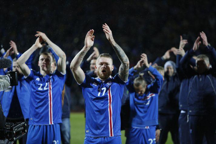 Ísland sigraði gegn Kósóvó í kvöld og tryggði sér sæti á HM 2018 í Rússlandi.