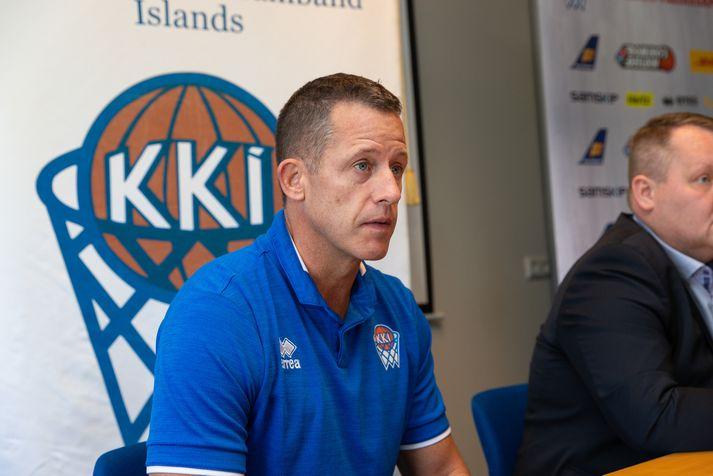 Pedersen hefur stýrt íslenska landsliðinu síðan 2014.