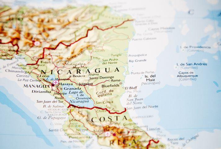Mennrinir fjórir fóru ólöglega yfir landamæri Kosta Ríka og Níkaragva. Óttast var að þeir ætluðu að reyna að komast til Bandaríkjanna.