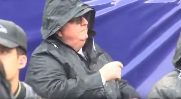 Öflugur stuðningsmaður Ravens í NFL-deildinni.