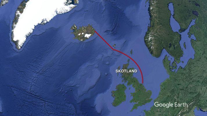 Sæstrengurinn yrði mögulega sá lengsti í heimi og færi á milli meginlands Englands og Íslands.