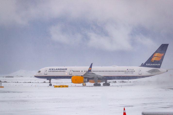Icelandair hefur fellt niður meirihluta flugferða sinna að undanförnu líkt og mörg önnur flugfélög.