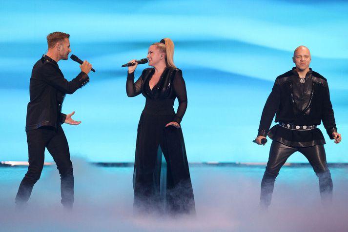 Hljómsveitin KEiiNO frá Noregi vann símakosninguna í úrslitum Eurovision í ár en hafnaði að endingu í 5. sæti þegar stig dómnefndar voru reiknuð með.