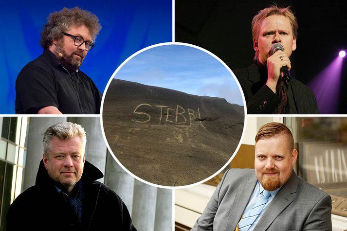 Stefán Pálsson, Stefán Hilmarsson, Stefán Jón Hafstein og Stefán Bogi Sveinsson eru á meðal þeirra Stefána sem leggja nafn sitt við ályktunina.