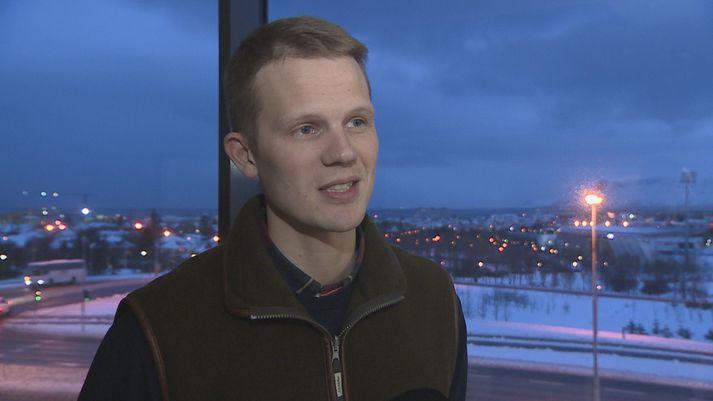 Eldur Ólafsson jarðfræðingur er stofnandi og framkvæmdastjóri AEX Gold.