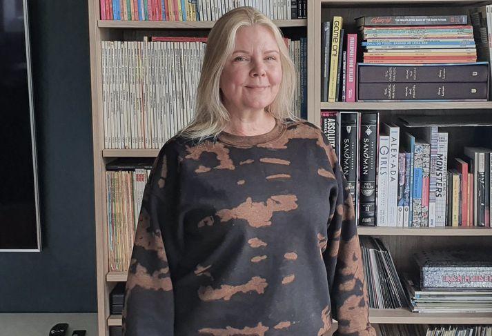 María Heba segir að hún hafi lengi viljað vera týpan sem gengur á fjöll með öðrum konum.