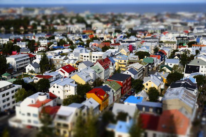 Airbnb er eina gistiþjónusta landsins sem aukið hefur hlutdeild sína á markaðnum.