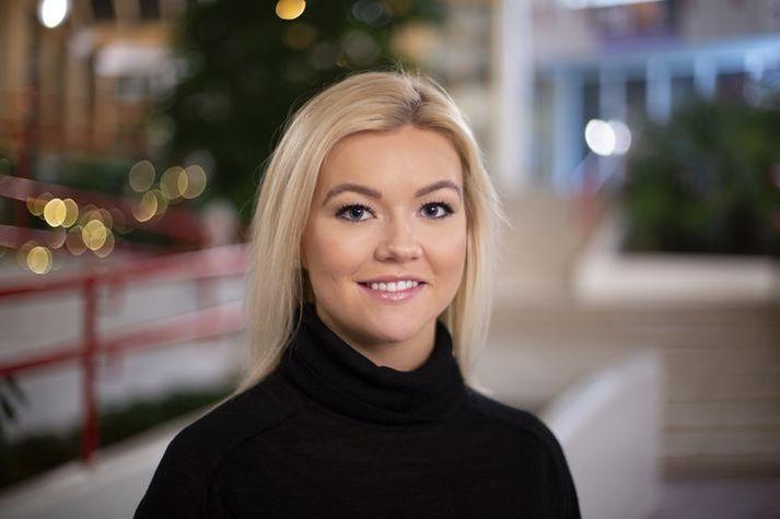 Jóna Þórey Pétursdóttir, forseti Stúdentaráðs.