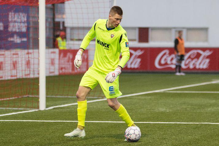 Anton Ari hefur tvisvar sinnum orðið Íslandsmeistari með Val og tvisvar sinnum bikarmeistari.
