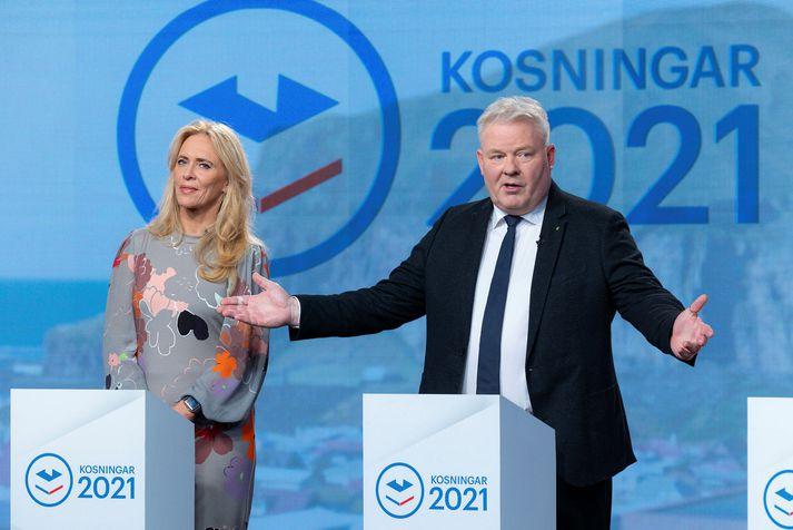 Framsóknarflokkurinn hefur aukið fylgi sitt mikið milli tveggja kannana Maskínu fyrir Stöð 2.