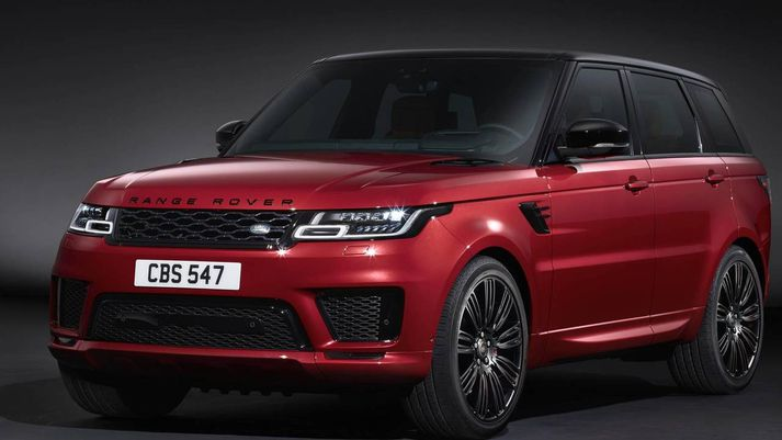Range Rover Sport með tengiltvinnaflrás.