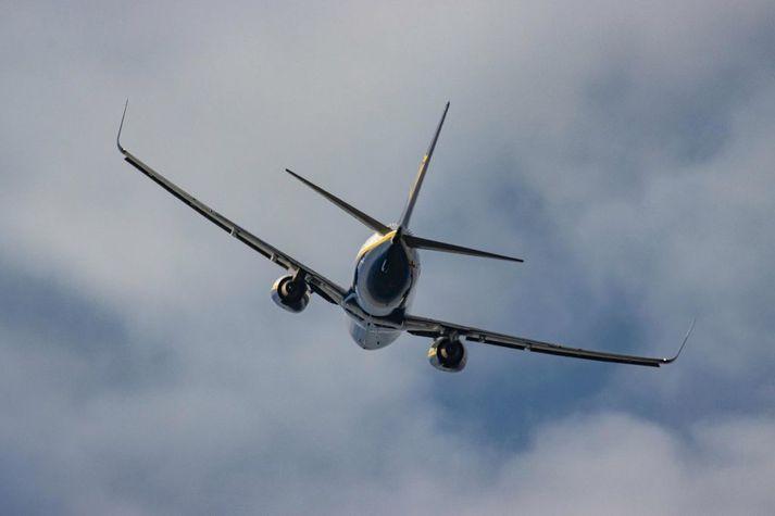 Vél af gerðinni Boeing 737-800 Max.