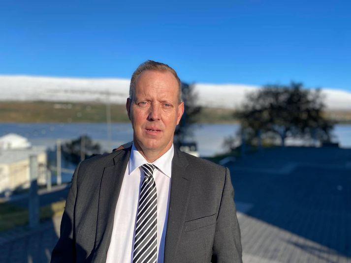 Ingi Tryggvason, formaður yfirkjörstjórnar í Norðvesturkjördæmi.