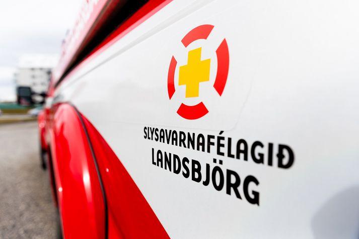 Björgunarmenn frá höfuðborgarsvæðinu og Akranesi á leið á vettvang.