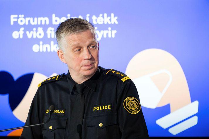 Víðir Reynisson er yfirlögregluþjónn hjá almannavörnum.
