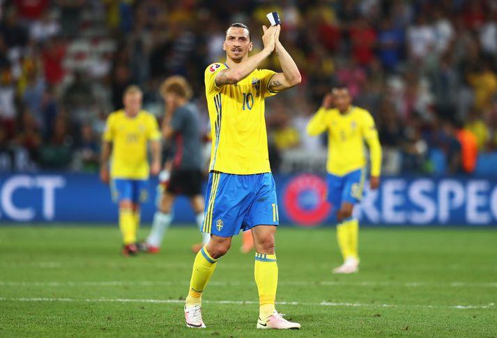 Zlatan Ibrahimovic er markahæsti leikmaður sænska landsliðsins frá upphafi með 62 mörk.